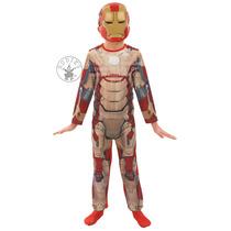Iron Man Costume - Hombres Medio 5-6 Años 3 Marvel Super