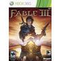 Fable 3 Para Xbox 360 Nuevo