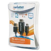Cable Mhl Manhattan De Micro Usb A Hdmi Con Usb-ap/alimentac