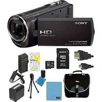 Sony Handycam Camcorder Hdrcx405 Bundle Con Tarjeta Micro Sd