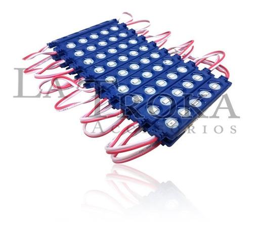 Modulo 10 Piezas  Hyper - Led Azul [ilu3281