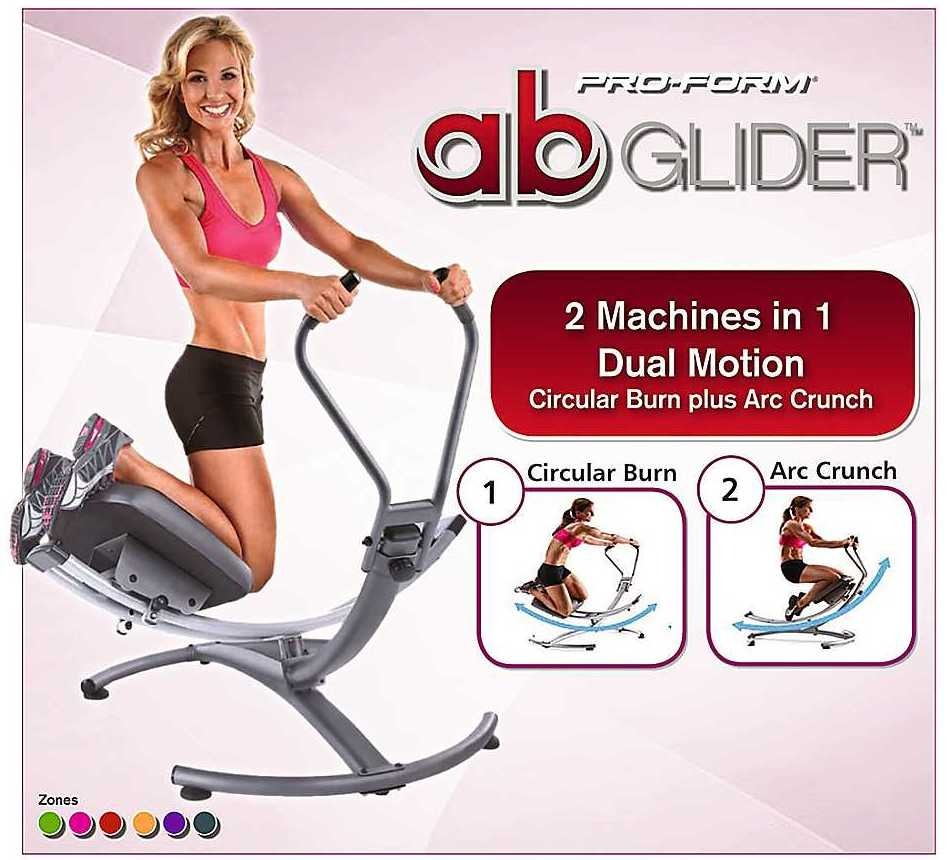 Bicicleta eliptica banco ejercicios ab slider glider 180 for Aparatos para hacer ejercicio