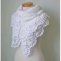 Mañanita Capa Poncho Tejido Crochet