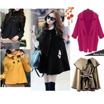 Moda Japonesa Asiat Oriental Abrigo Hodie Poncho Blazer S Xl