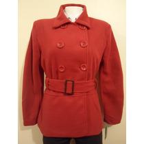 Abrigo Para Mujer Rojo Importado Grande Hm4