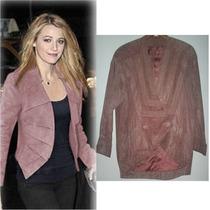 Chaqueta Leather De New York Saco De Piel Talla Chica +envio