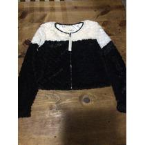 Envío Gratis Abrigo Jacket Peluche Faux Fur Mustare Seed M
