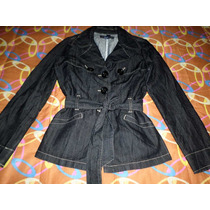 Trench Coat, Abrigo ,chamarra,chaleco Forever 21 Ch-med-l