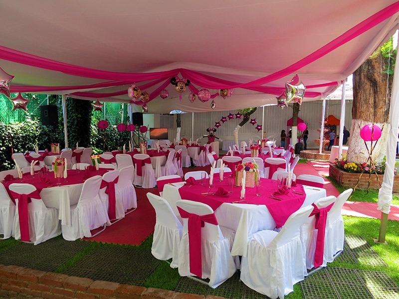 Salones de fiesta para xv anos en distrito federal share for Jardines para eventos