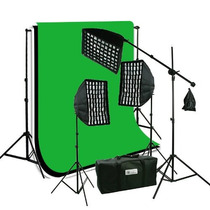 Kit Profesional Estudio De Video Y Fotografia Omm