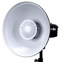 Beauty Dish Godox Blanco Con Bracket Para Speedlite