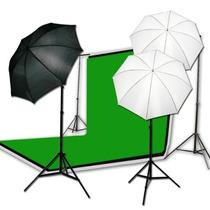 Kit De Iluminacion Fotografico Para Estudio Fotografia Au1