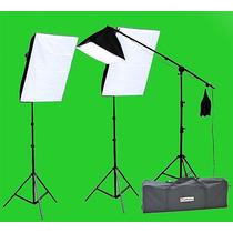 Kit De Luz Para Iluminación De Estudio De Fotografia O Video