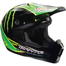Liquidacion Casco Motocross Atv Enduro Thor Monster