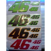 Calcomanias Numero #46 Motocicletas