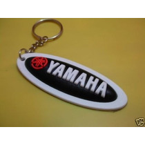 Llavero Yamaha Ovalado Negro