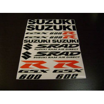 Jgo De Calcomanias Para Moto Suzuki Gsx-r600