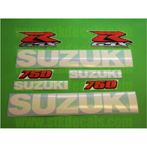 Kit De Calcomanias Para Moto Suzuki Gsx-r750 Año 06-09