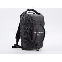 Mochila Backpack 30l Swmotech Plegable Flexpack Motociclismo