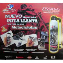 Inflallantas Para Motocicleta !!! Repara En 5 Min