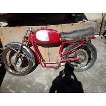 Lote Moto Carabela Antigua 100cc Cafe Racer Con Motor