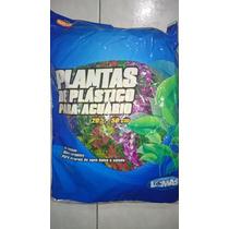 Planta Artificial Acuario 6pzas 50cm C/u Agua Dulce/salada