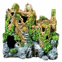 Adorno Para Acuario Entornos Exóticas Ruinas Olvidadas Del
