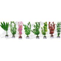 Plantas Para Acuario Artificiales De 30 Cms Omm
