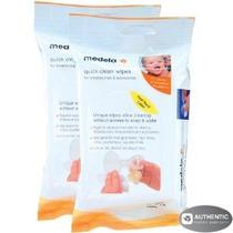 Medela Quick Clean De Lactancia Y Accesorios Wipes - 24 Pack
