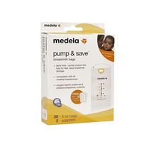 20 Bolsas Pump And Save Para Almacenar Leche Materna Medela