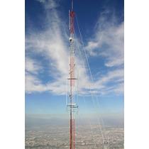 Tramo De Torre Arriostrada Stz35g Zonas Humedas Hasta 45 Mt