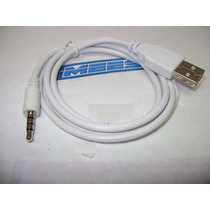 Cable Usb Transferencia Datos Ipod Suffle 3.5mm - Usb