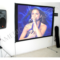 Pantalla Para Videoproyeccion Back & Front American-screens