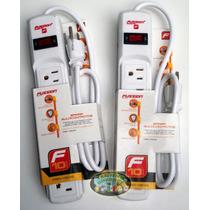2 Barras Multicontacto Con Protección De Voltaje!! Eex