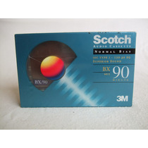 Audio Cassette Scotch Bx90 Minutos Tipo I Normal