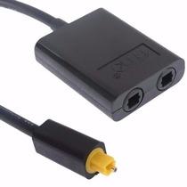 Switch Toslink 1 A 2 Splitter Fibra Optica Bidireccional Aud