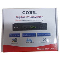 Decodificador Digital Tv Coby Dtv-700 10 Pzas Mayoreo