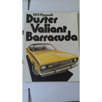 Catalogo Orig. De Venta Dart Duster Valiant Barracuda 1972