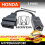 Adaptador Honda De 3 A 16 Pin Obd2 Para Escaner Automotriz