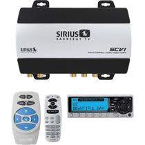 Tb Estereo Audiovox Sirius Scv1 Backseat Tv Audio/video