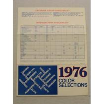Codigo De Colores Ford Maverick 1976