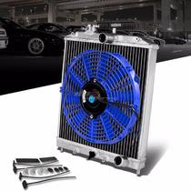 Radiador De Aluminio 92-00 Honda Civic-del Sol