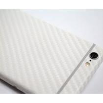 Vinil Fibra De Carbono Blanco 3d