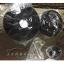 Sr Poleas Aluminio - Negro ( 96 -mid 01 Gt )