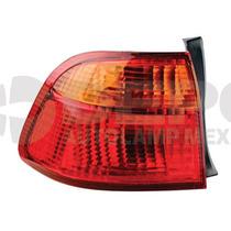 Calavera Honda Civic 1999 -2000 Ext Izq 4 Puertas Ambar/rojo