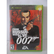 Video Juegos Xbox From Russia With Love 007 Original #a370