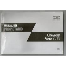 Manual Del Propietario (chevrolet Aveo 2015)