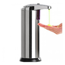 Dispensador Despachador Automatico De Jabón De Metal Sensor