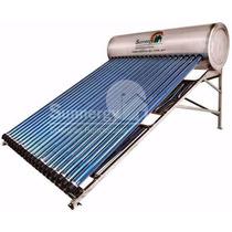 Calentador Solar Sunnergy Acero Inoxidable 285lt 24 Tubos