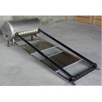 Calentador Solar 140 Litros Acero Inox. Base Chaparrita